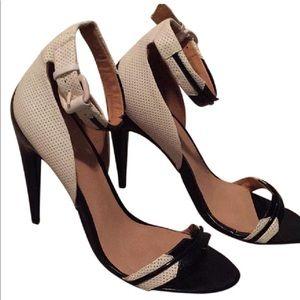 L.A.M.B. Sandaled Heels